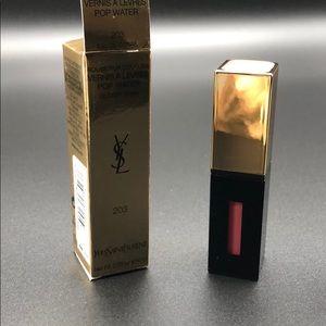 Yves Saint Laurent glossy stain lip gloss 203